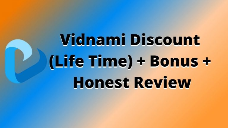 Vidnami Discount and Review
